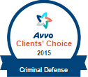 Avvo Clients' Choice 2015 | Criminal Defense